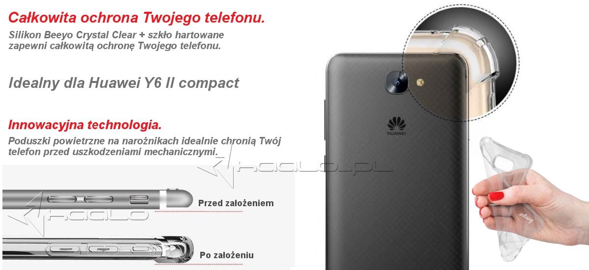 Silikon do Huawei Y6 II compact