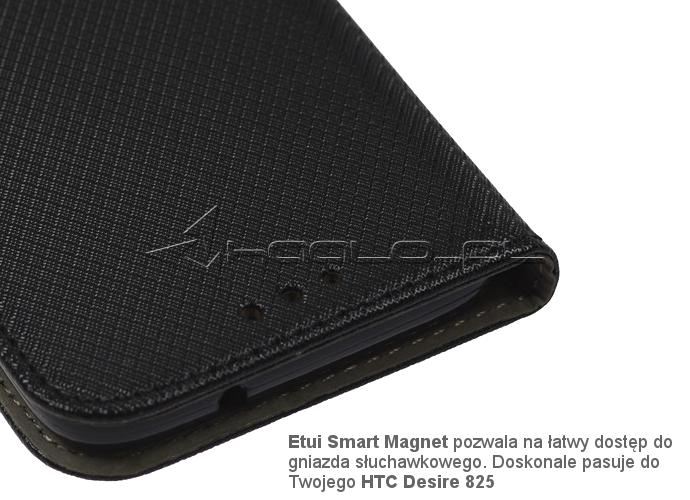 Futerał zamykany na magnes do HTC Desire 825