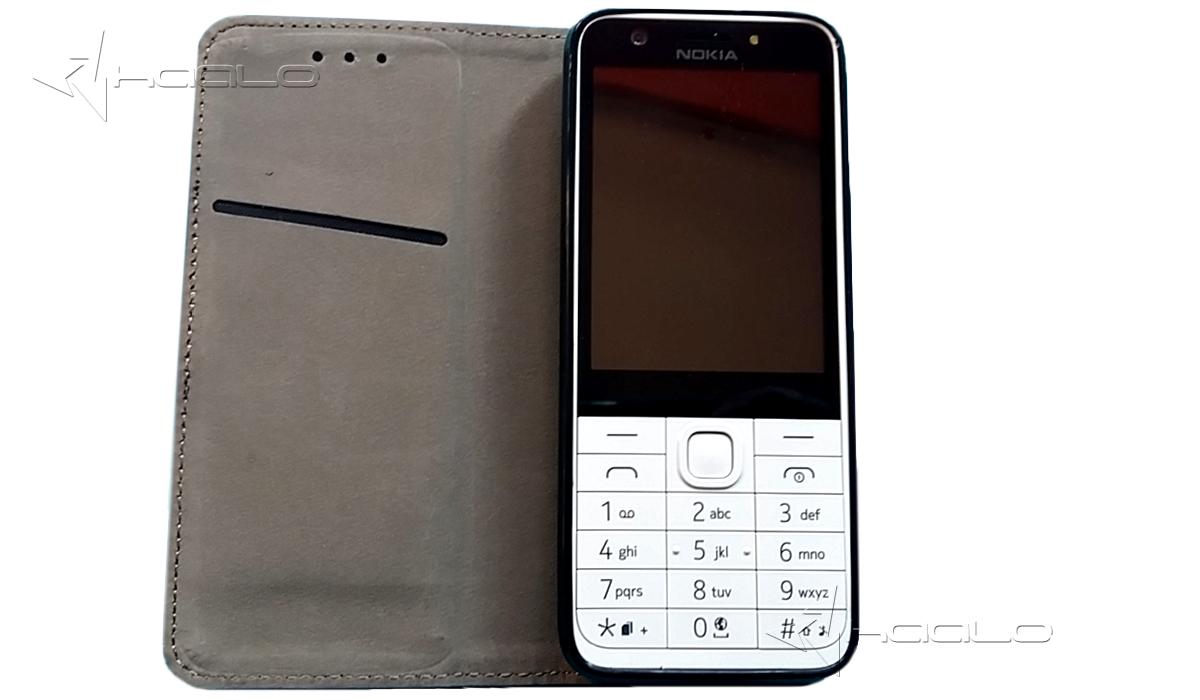 Kolorowy futerał z klapką na magnes do Nokia 230 Futerał zamykany do Nokia 230