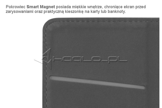 Futerał z klapką na magnes do Huawei P9