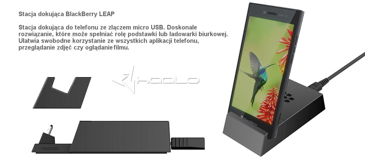 Oryginalna stacja dokująca blackberry leap ACC-60937-001 micro USB