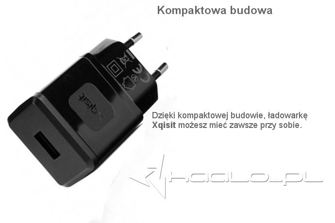 Oryginalna Ładowarka sieciowa Xqisit USB Travel Charger 2.4 A