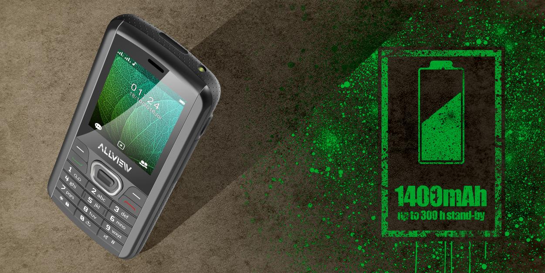 Niezniszczelny telefon Solid Allview M9 Jump