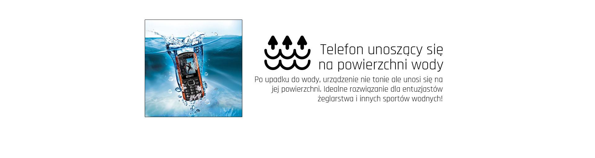 Wodoodporny telefon Maxcom MM901 Strong