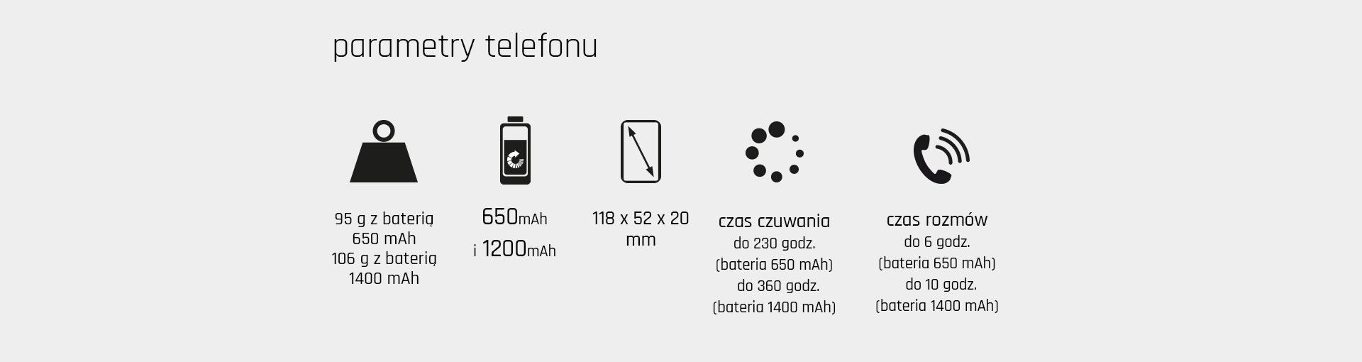 Telefon do wody Maxcom MM901 Strong