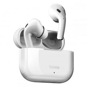 BASEUS W3 TWS WIRELESS EARPHONE WHITE