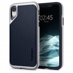 SPIGEN NEO HYBRID IPHONE XR SATIN SILVER-131698