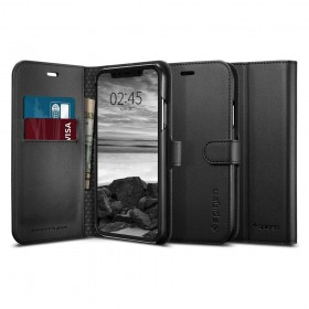 SPIGEN WALLET S IPHONE XR BLACK-131706
