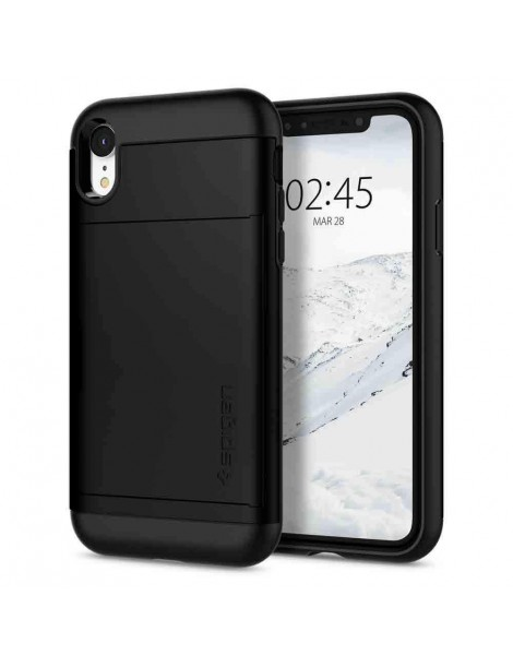 SPIGEN SLIM ARMOR CS IPHONE XR BLACK-131716