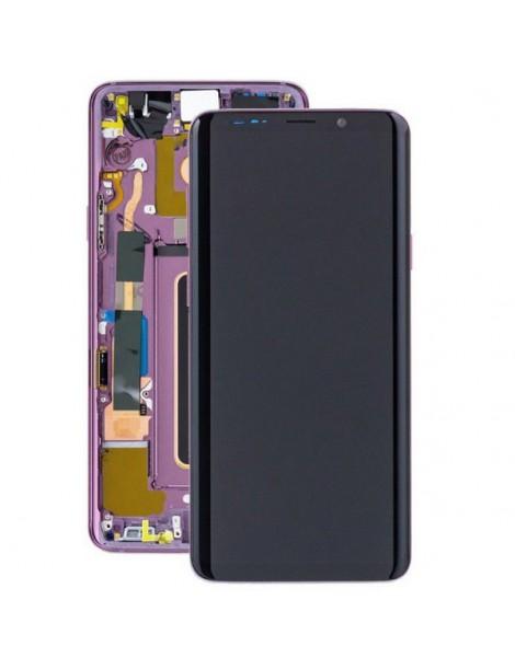 WYMIANA WYŚWIETLACZA SAMSUNG S9+ G965 FIOLETOWYY