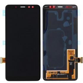 WYMIANA WYŚWIETLACZA SAMSUNG A8 A530 2018 CZARNY