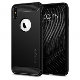 SPIGEN RUGGED ARMOR IPHONE X/XS MATTE BLACK-131859