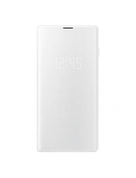 Futerał Samsung S10+ G975 LED View Cover biały