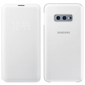 Futerał Samsung S10e G970 LED View Cover biały
