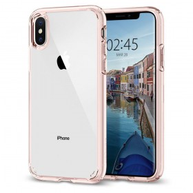 SPIGEN ULTRA HYBRID IPHONE X/XS ROSE CRYSTAL-131868