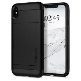 SPIGEN SLIM ARMOR CS IPHONE X/XS BLACK-131918