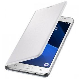 Futerał Samsung J3 J320 2016 Flip Wallet biały
