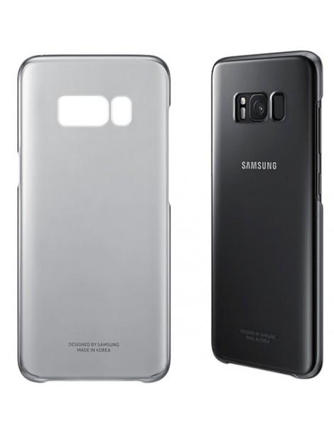 Futerał Samsung S8+ G955 Clear Cover czarny