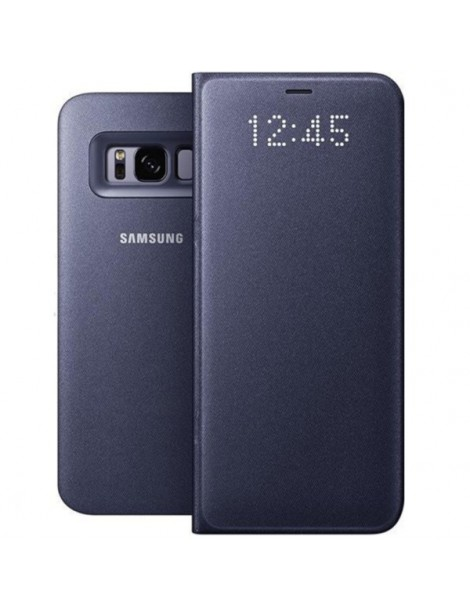 Futerał Samsung S8 Led View Cover fioletowy