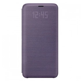 Futerał Samsung S9 Led View Cover fioletowy
