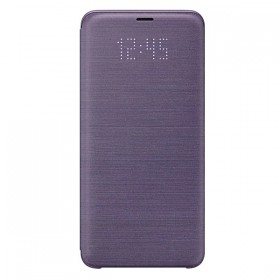 Futerał Samsung S9+ Led View Cover fioletowy