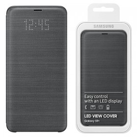 Futerał Samsung S9+ G965 Led View Cover czarny