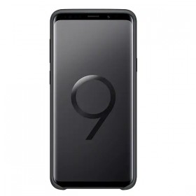 Futerał Samsung S9+ G965 Silicon Cover czarny