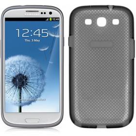Futerał Samsung S3 I9300 Silicon Cover szary