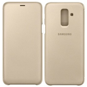 Futerał Samsung A6+ A605 2018 Wallet Cover złoty