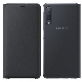 Futerał Samsung A7 A750 2018 Wallet Cover czarny
