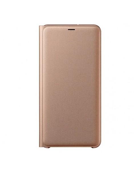 Futerał Samsung A7 A750 018 Wallet Cover czarny