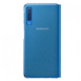 Futerał Samsung A7 A750 2018 Wallet Cover niebieski
