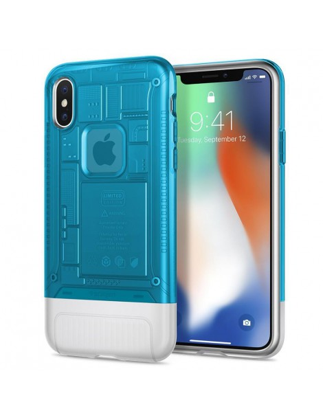 SPIGEN CLASSIC C1 IPHONE X/XS BLUEBERRY-132938