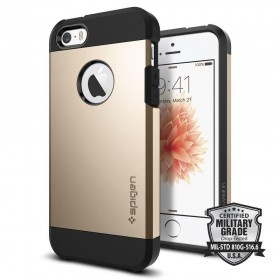 SPIGEN TOUGH ARMOR IPHONE 5S/SE CHAMPAGNE GOLD-116261