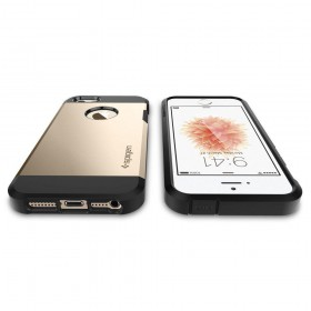 SPIGEN TOUGH ARMOR IPHONE 5S/SE CHAMPAGNE GOLD