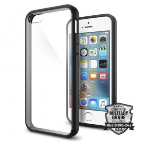 SPIGEN ULTRA HYBRID IPHONE 5S/SE BLACK-116255
