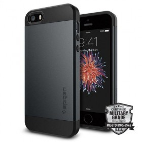 SPIGEN SLIM ARMOR IPHONE 5S/SE METAL SLATE-116241