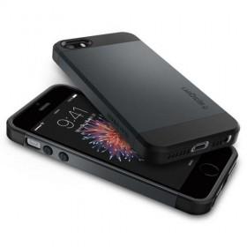 SPIGEN SLIM ARMOR IPHONE 5S/SE METAL SLATE