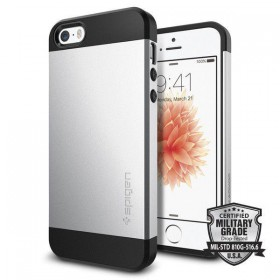 SPIGEN SLIM ARMOR IPHONE 5S/SE SATIN SILVER-116220
