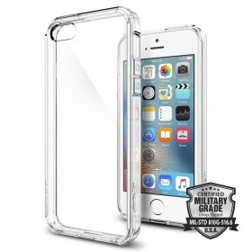 SPIGEN ULTRA HYBRID IPHONE 5S/SE CRYSTAL CLEAR-116214
