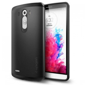 SPIGEN SLIM ARMOR LG G3 SMOOTH BLACK-116194