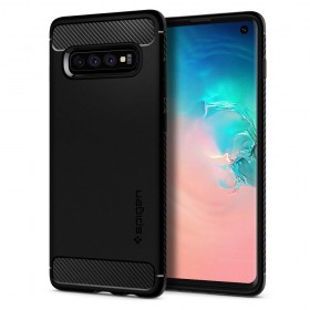 SPIGEN RUGGED ARMOR GALAXY S10 MATTE BLACK