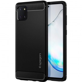 SPIGEN RUGGED ARMOR GALAXY NOTE 10 LITE MATTE BLACK