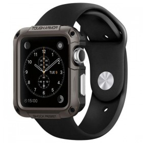 SPIGEN SGP TOUGH ARMOR APPLE WATCH 1/2/3 (42MM) GUNMETAL-116535