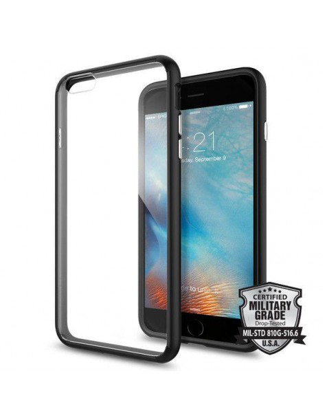 SPIGEN ULTRA HYBRID IPHONE 6/6S PLUS (5.5) BLACK-116682