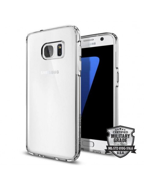 SPIGEN ULTRA HYBRID GALAXY S7 CRYSTAL CLEAR-116893
