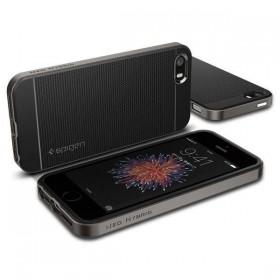 SPIGEN NEO HYBRID CARBON IPHONE 5S/SE GUNMETAL