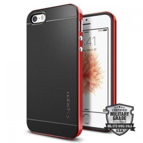 SPIGEN NEO HYBRID CARBON IPHONE 5S/SE DANTE RED-117287