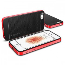 SPIGEN NEO HYBRID CARBON IPHONE 5S/SE DANTE RED