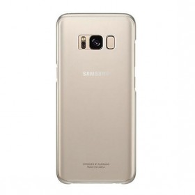 SAMSUNG CLEAR COVER GALAXY S8 GOLD-120995